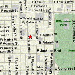 Map, Chicago Location