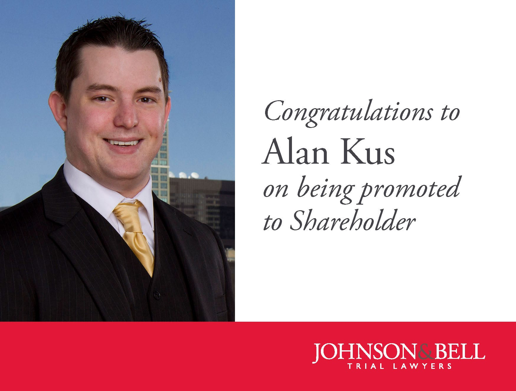 Alan Kus - Shareholder Promotion